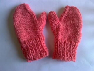 Toddlers Mittens/Childs Mittens