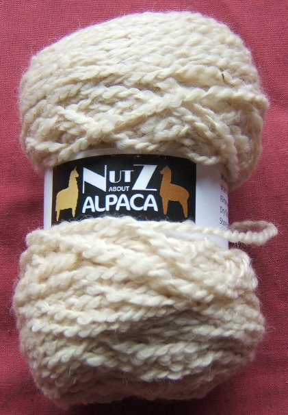 8 Ply Alpaca Wool - Natural White
